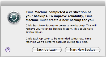 All your backups will be deleted.